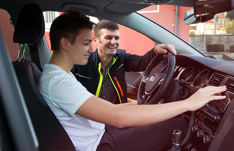 PKW Führerschein-Klassen B, BE,